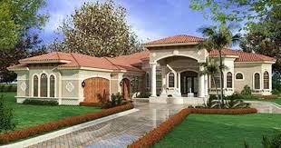 Mediterranean House Floor Plans One Level Mediterranean House Plans Homeca