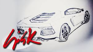 lamborghini aventador sketch speed drawing lamborghini aventador tutorial youtube