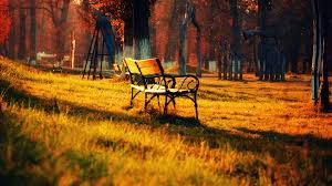 autumn park bench awesome wallpaper 4680 wallpaper themes