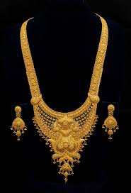 golden jewellery necklace images Golden necklace new design images jpg