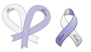 cancer ribbon tattoo designs
