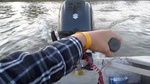 new suzuki 6hp 4 stroke outboard on my fiskars kello 2 boat youtube