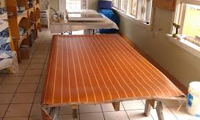 Boat Vinyl Flooring by Small Boat Projects Making Life Aboard Easier Refinsihing The