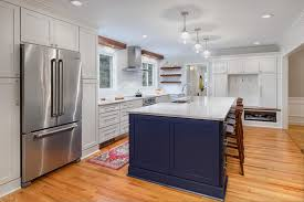 two tone kitchen cabinets and island using color for eye catching two tone kitchen cabinets