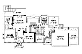 Southern House Plans Colonial Floor Plans Layout 15 Southern House Plan First Floor