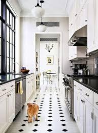 narrow kitchen 31 stylish and functional super narrow kitchen design ideas digsdigs