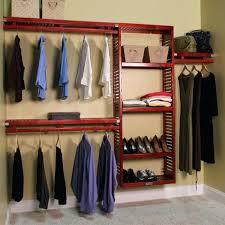 closet diy closet system cherry closet storage organization