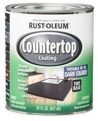 rust oleum 254853 quart interior countertop coating rustoleum