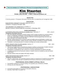 Reverse Chronological Resume Template Word Sample Resume Reverse Chronological Order 13 Resume Formater Best