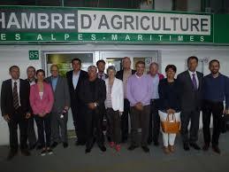 chambre d agriculture 06 signature d une convention entre la chambre d agriculture et les