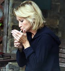 felicity kendal haircut strictly come dancing 2010 felicity kendal lights up a cigarette