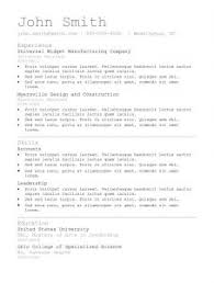 free resume templates 81 mesmerizing template format to download