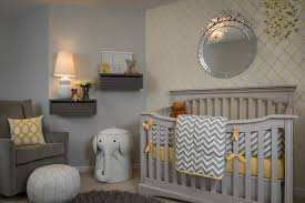 Gray And Yellow Nursery Decor Yellow And Gray Nursery Contemporary Nursery Porters Paint