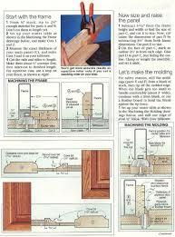 Make Raised Panel Cabinet Doors by Making Cabinet Doors Diy Changing Solid Cabinet Doors To Glass