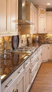 oak kitchen remodel u2013 painted cream cabinets and quartz quartz