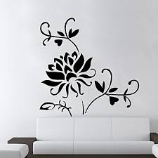 Buy Generic DIY Fashion Self Adhesive PVC Removable Wall Stickers