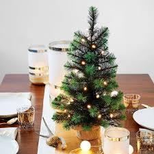 led light up tabletop tree west elm