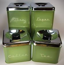 green canisters kitchen metal kitchen canisters foter