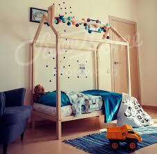 Child Bed Frame Wood Bed 140x70 Or 90cm Child Bed Gift Toddler Bed