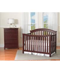 Cherry Convertible Crib by Summer Infant Black Cherry Freemont Easy Reach 4 In 1 Convertible
