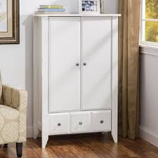Wood Armoire Wardrobe Armoires U0026 Wardrobes You U0027ll Love Wayfair