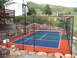 backyard courts gallery sport court of southern california