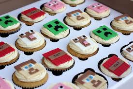 minecraft cupcakes minecraft cupcakes personalised cakes for birthdays weddings and