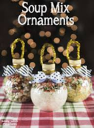 soup mix ornaments sprinkle some