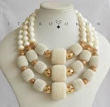 bridal beads necklace images Nigerian wedding beads by itoro okon jpg
