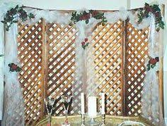 wedding backdrop lattice how to make wedding arbor out of lattice backdrops search
