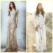 lace wedding dresses vintage zuhair murad lace vintage wedding dresses custom made sleeves