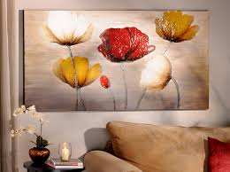 poppy profusion canvas painting paintings canvases and canvas