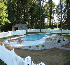 low maintenance landscaping ideas around pool design and ideas