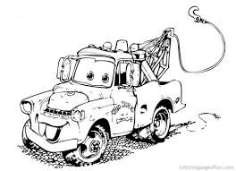 jeep cartoon drawing film printable car pictures mcqueen coloring pages cars painting