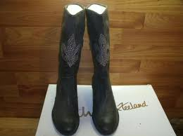 womens mid calf boots size 9 kathy zeeland boots size 9 m womens mid calf rhinestone detail