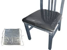 plastic chair covers plastic dining chair covers