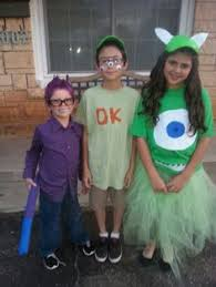 Sully Monsters Halloween Costume Monsters Family Halloween Costumes Mike Wazowski Sulley