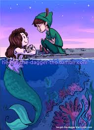 larry mermaid au