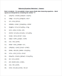 balancing equations worksheet answers page 61 futurespastart com