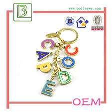 nice key rings images Fashion letter key rings letter m keychain nice key chain key jpg
