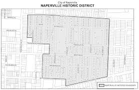 Chicago Police District Map by Historic District The City Of Naperville