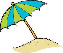 clip on beach umbrella many interesting cliparts