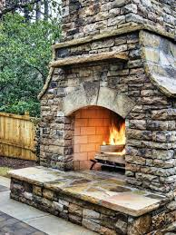 awesome stacked stone fireplace ideas home fireplaces firepits