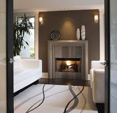 Best  Contemporary Fireplace Mantels Ideas On Pinterest - Living room with fireplace design