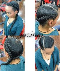cornrow hairstyles for black women with part in the middle 31 cornrow styles to copy for summer cornrows hair style and