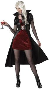 c792 blood thirsty beauty woman vampire gothic halloween fancy
