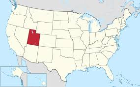 A Map Of The States by The State Of Utah