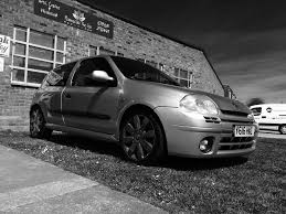 renault clio 2002 modified renault clio 172 ph1 rare iceberg silver modified swap turbo civic