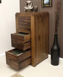 baumhaus shiro walnut 3 drawer filing cabinet amazon co uk