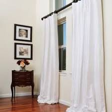 Two Different Colored Curtains Silk Curtains Donnine Dreamy Draping Pinterest Silk